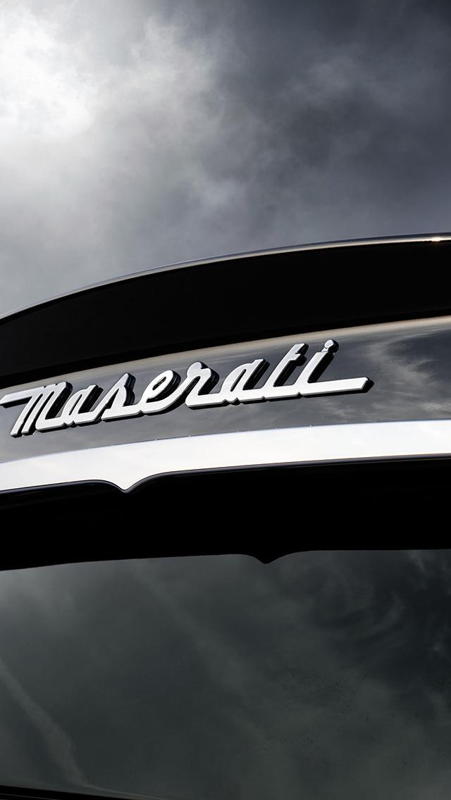 Maserati 3Wallpapers iPhone 5 Maserati