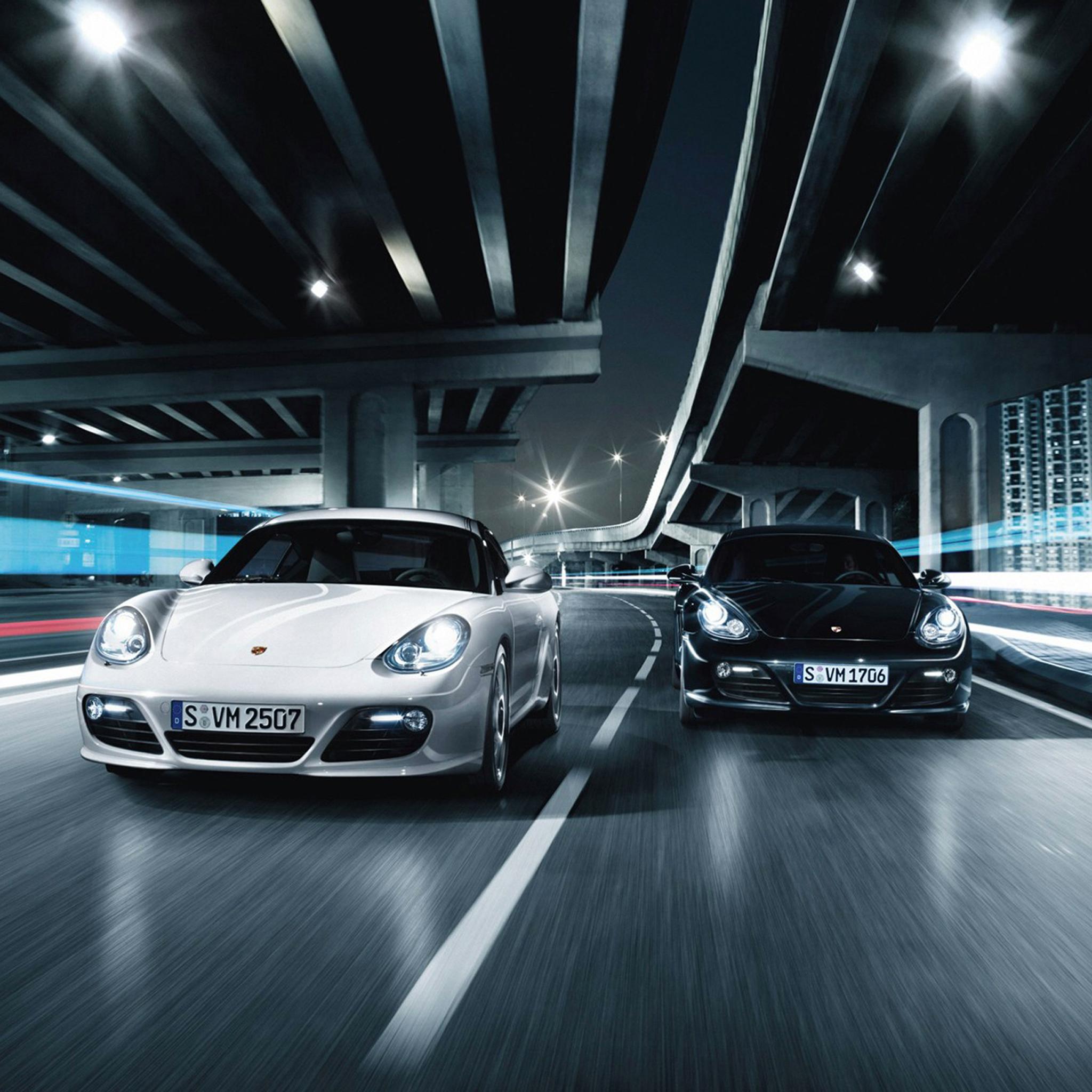 Porsche Cayman 3Wallpapers iPad Retina Porsche Cayman   iPad Retina