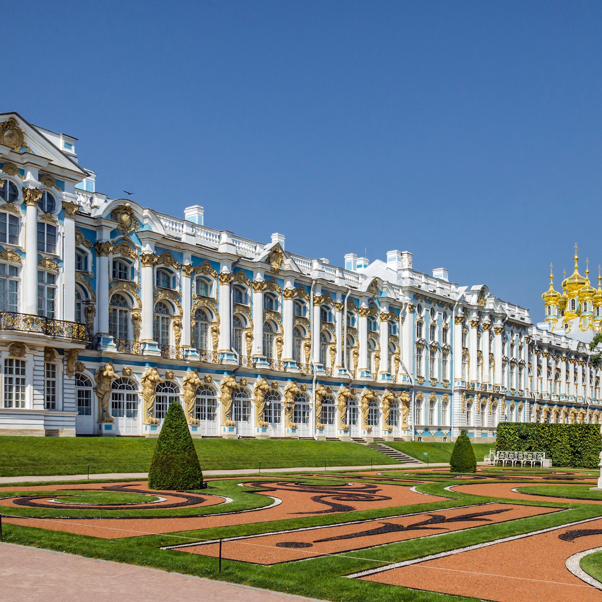Catherine Palace in Tsarskoe Selo 3Wallpapers iPad Retina Catherine Palace in Tsarskoe Selo   iPad Retina