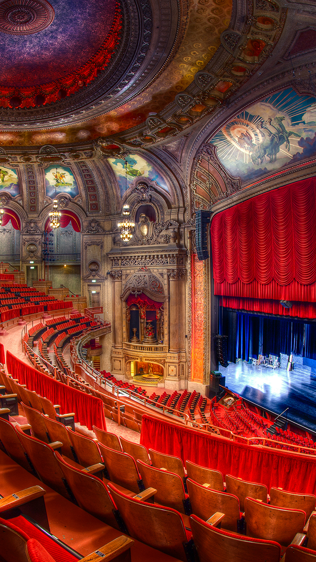 Chicago Theater Wallpaper For Iphone 11 Pro Max X 8 7 6 Free Download On 3wallpapers