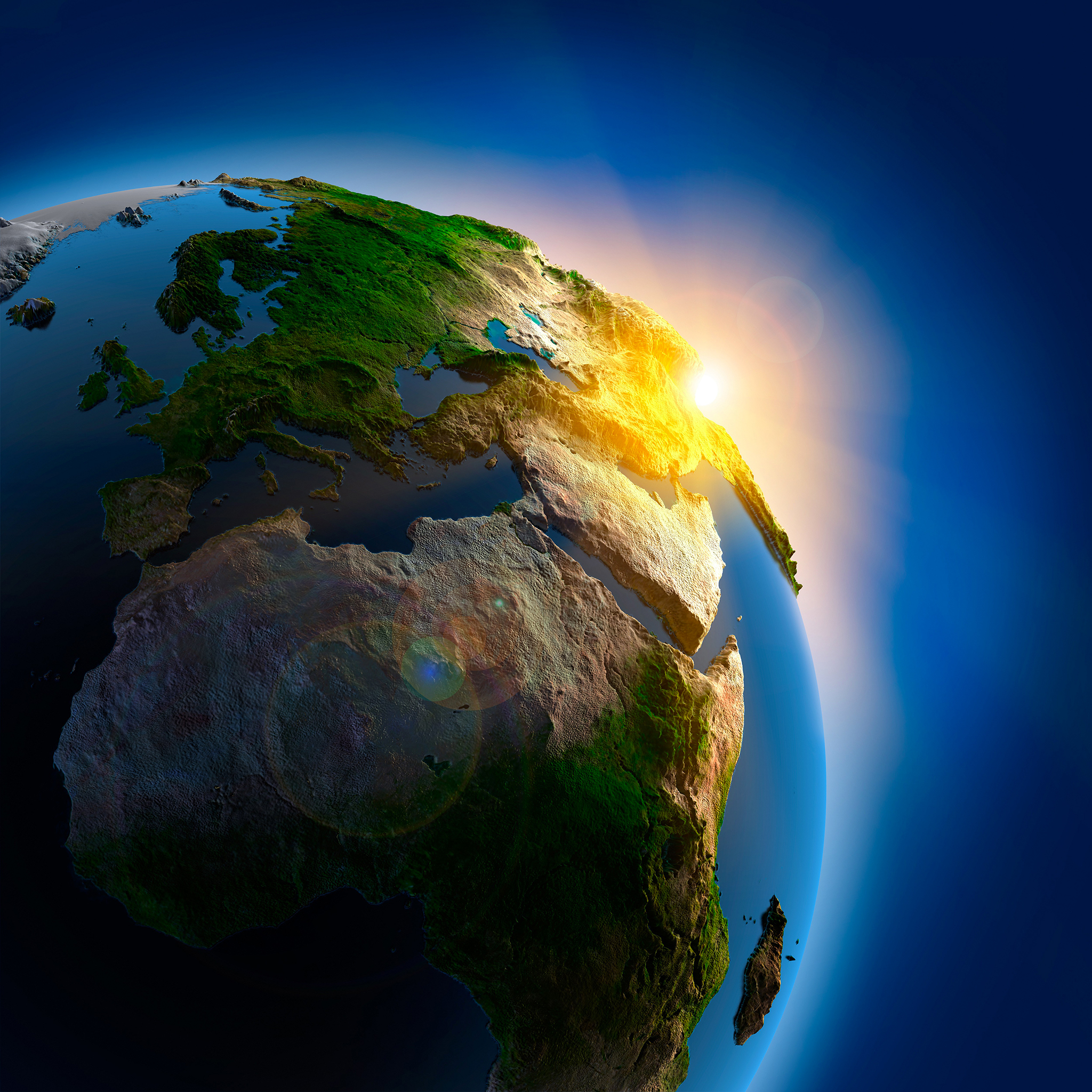 Planet Earth Light 3Wallpapers iPad Retina Planet Earth Light   iPad Retina