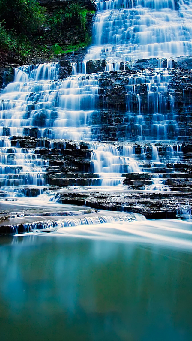 WaterFall 3Wallpapers iPhone 5 WaterFall
