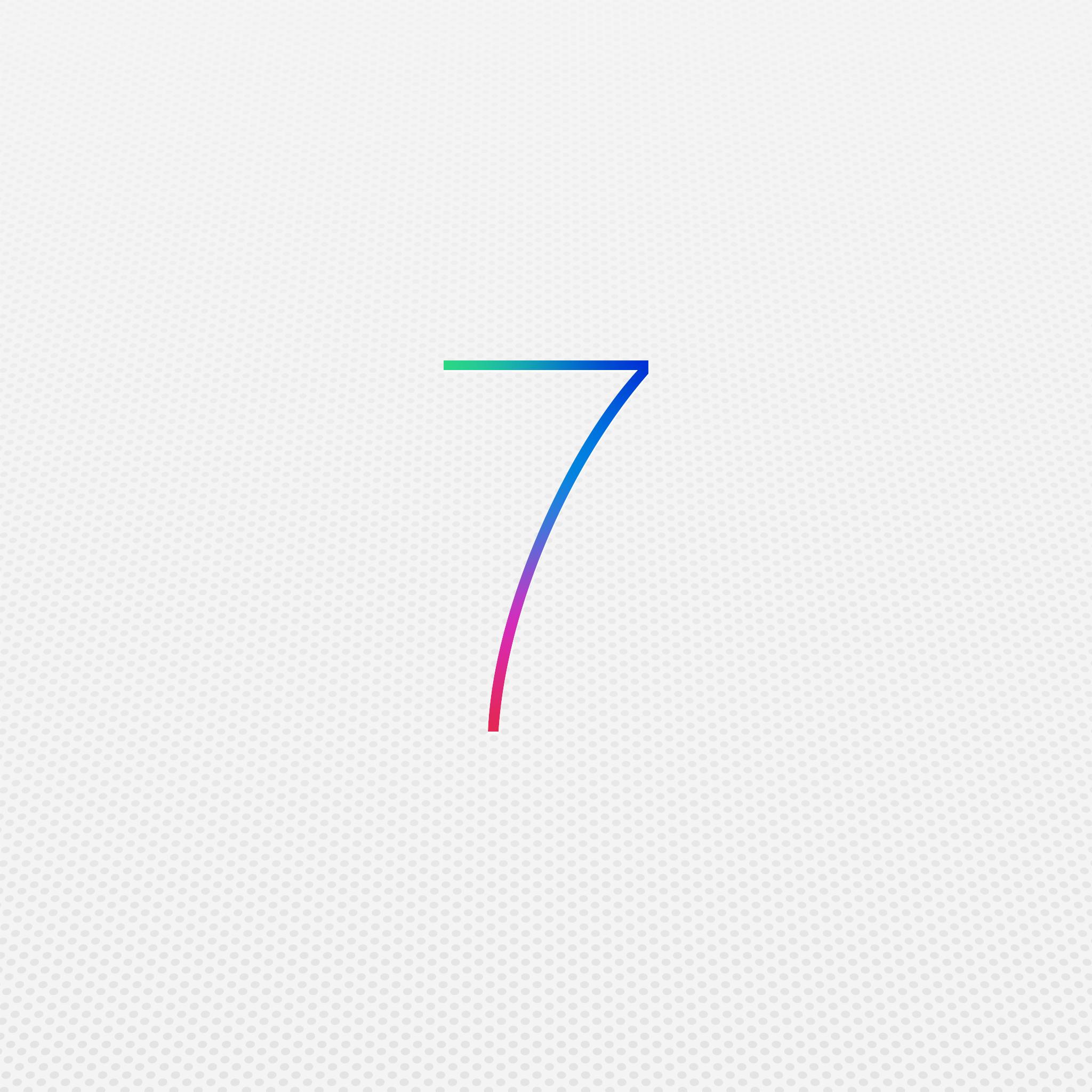 iOS7 3Wallpapers iPad Retina iOS 7   iPad Retina