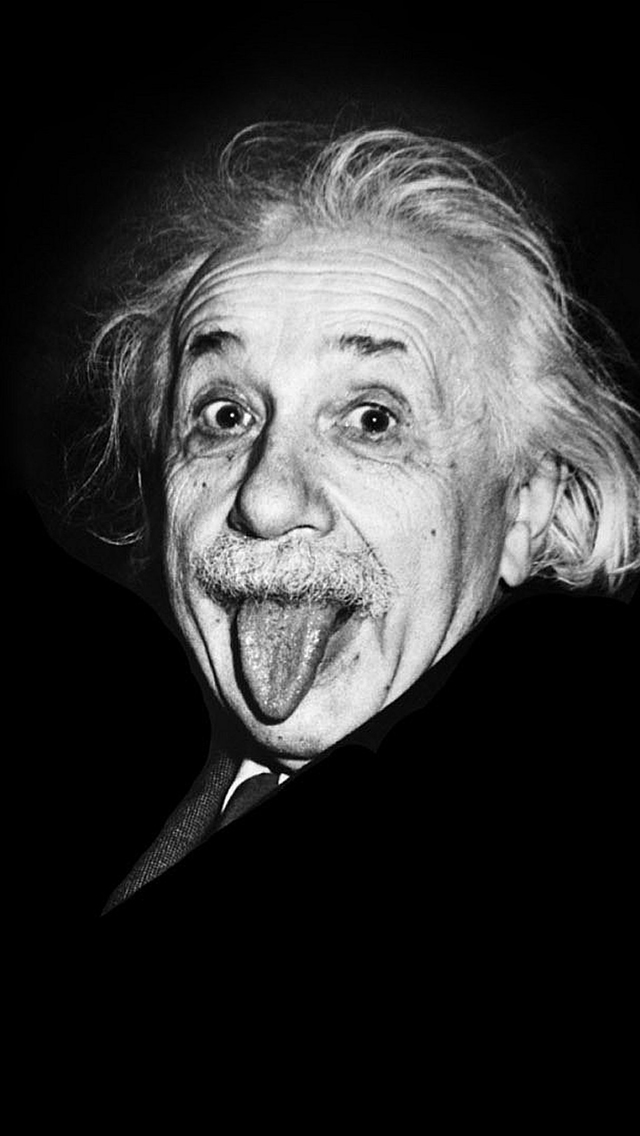 Albert Einstein 3Wallpapers IPhone