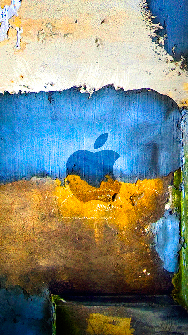 Apple Colour Wall 3Wallpapers iPhone Apple Colour Wall