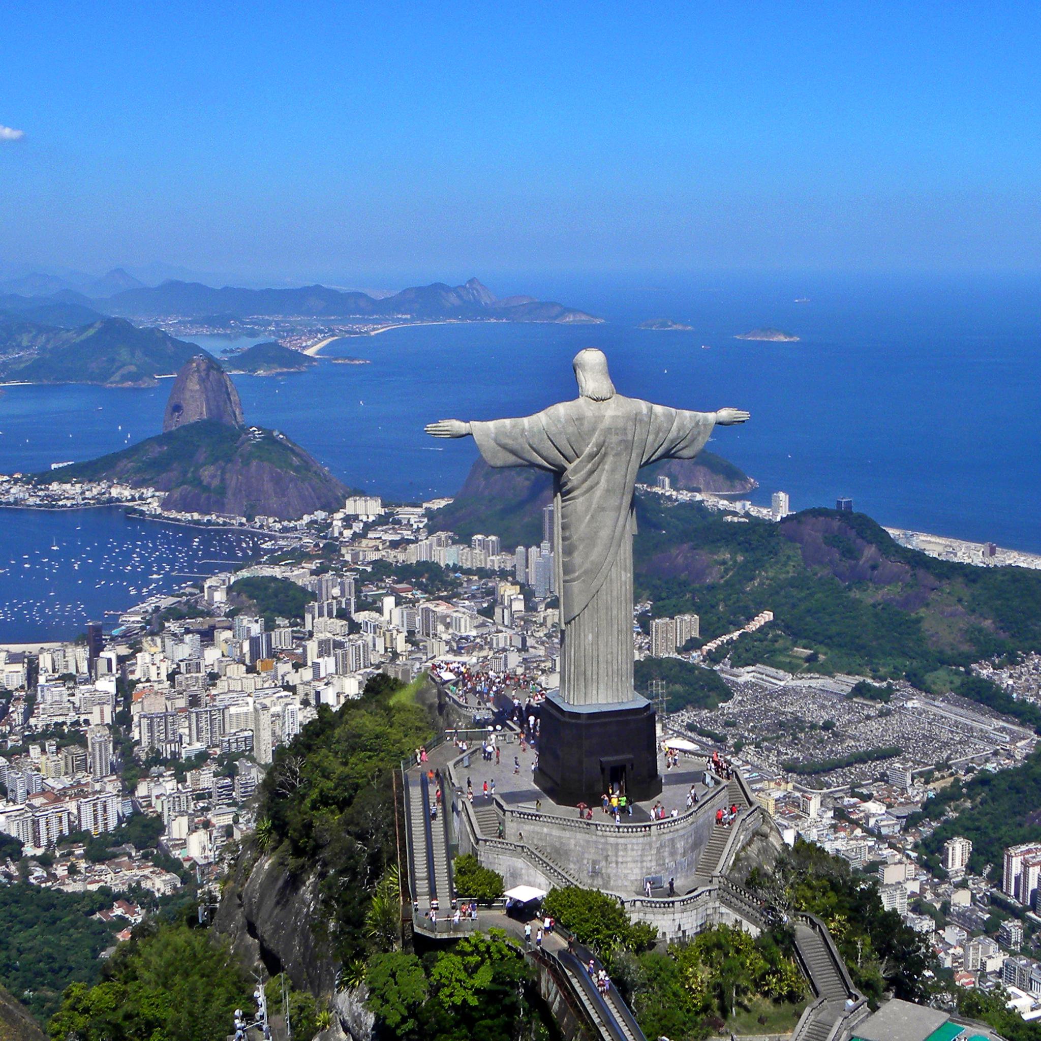 Christ on Corcovado mountain 3Wallpapers ipad Retina Christ on Corcovado Mountain   iPad Retina