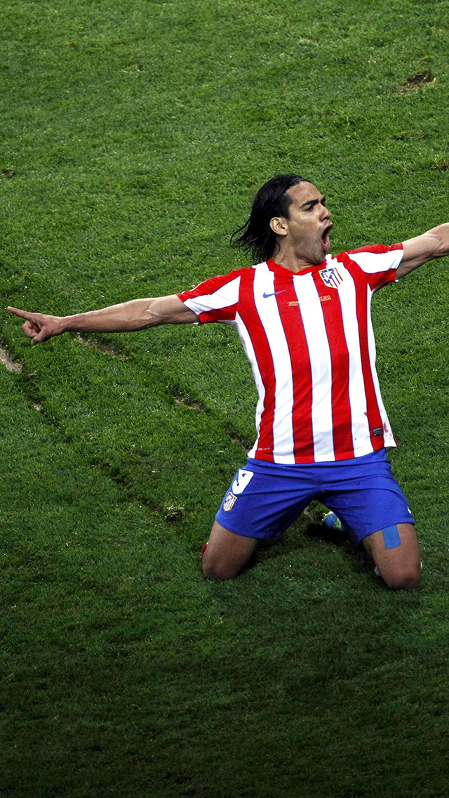 Falcao 3Wallpapers iPhone 5 Falcao