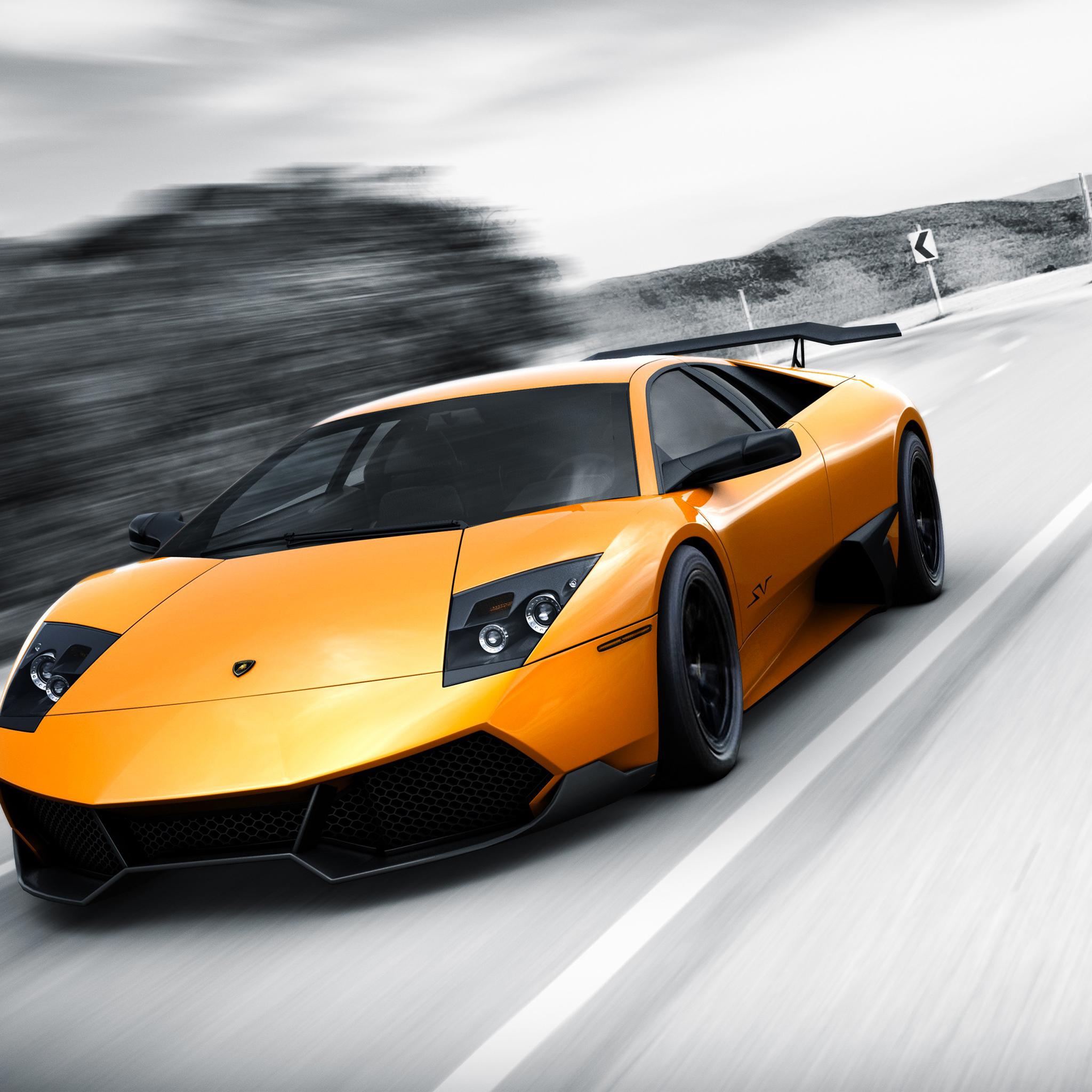 Lamborghini Murcielago3Wallpapers iPad Retina Lamborghini Murcielago   iPad Retina