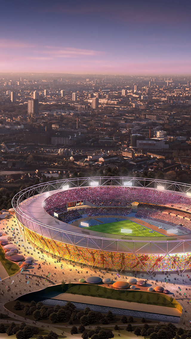 London Stadium Wallpaper For Iphone X 8 7 6 Free