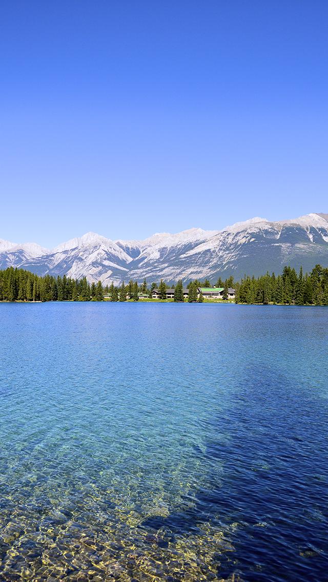 Mountain Lake 3Wallpapers iPhone 5 Mountain Lake