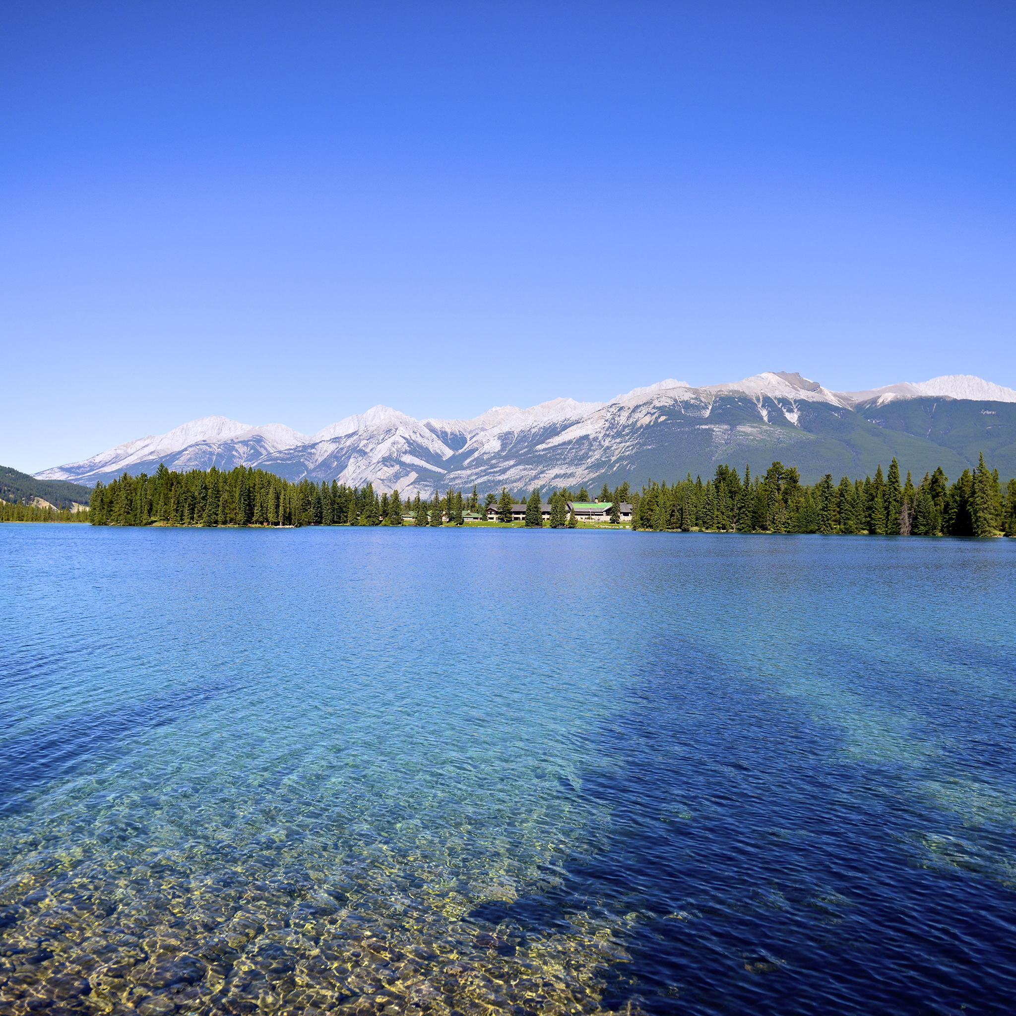 Mountain Lake 3Wallpapers ipad REtina Mountain Lake   iPad Retina