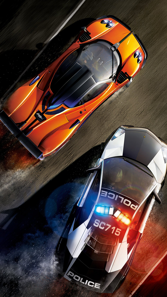 NFS Hot Poursuit 3Wallpapers iPhone NFS Hot Poursuit