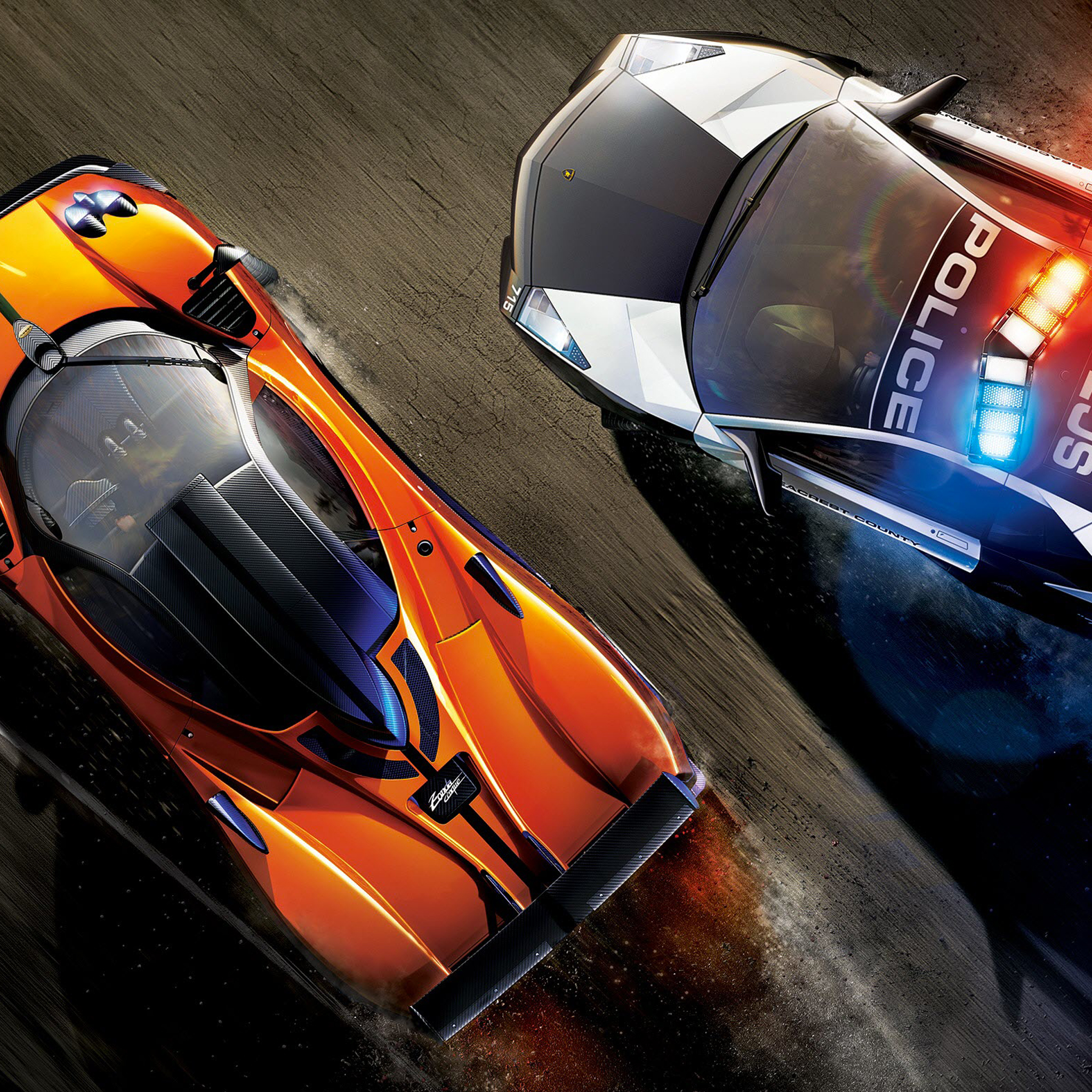NFS Hot Poursuit 3Wallpapers ipad Retina NFS Hot Poursuit   iPad