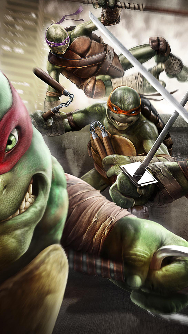 Ninja Turtles Out of the Shadows Game 3Wallpapers iPhone Ninja Turtles Out of the Shadows Game