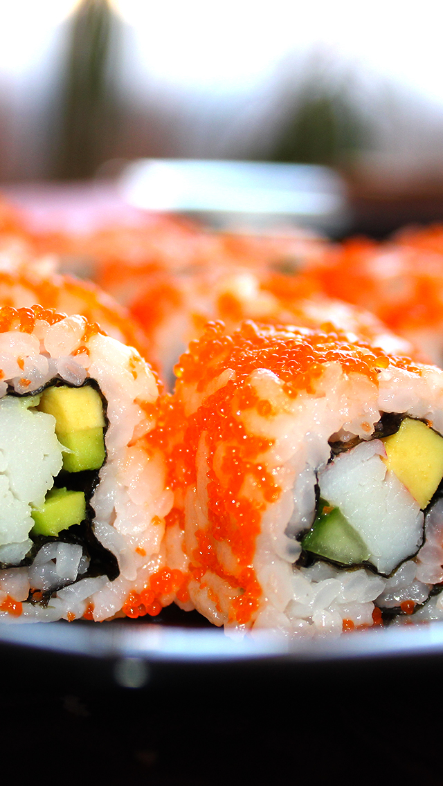 Sushi 3Wallpapers iPhone 5 Sushi