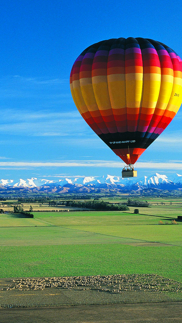 Travel World Outstanding Air Balloon 3Wallpapers iPhone Travel World Outstanding Air Balloon