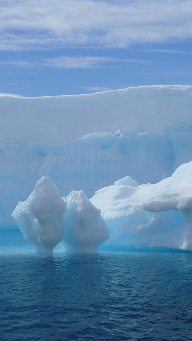 Water Ice Ocean3Wallpapers iPhone 5 Water Ice Ocean