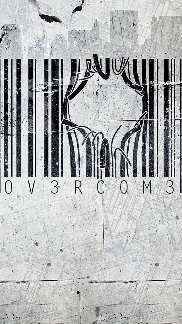 Barcode Street Art3Wallpapers IPhone Art