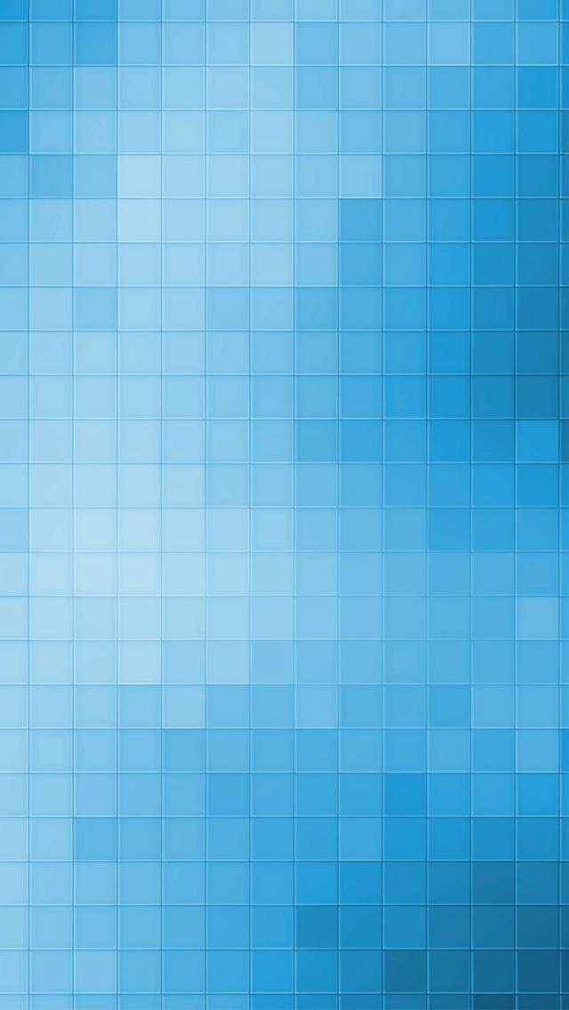 Blue Pixels 3Wallpapers iPhone Blue Pixels