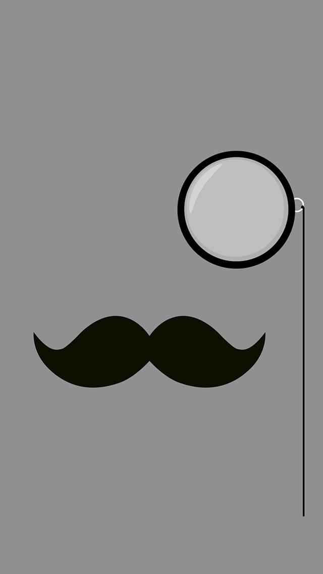 Classy Mustache 3Wallpapers iPhone Classy Mustache