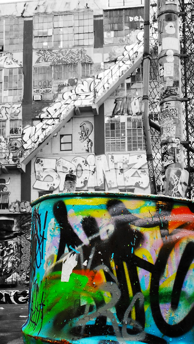 Street Art Wallpaper For Iphone X 8 7 6 Free Download