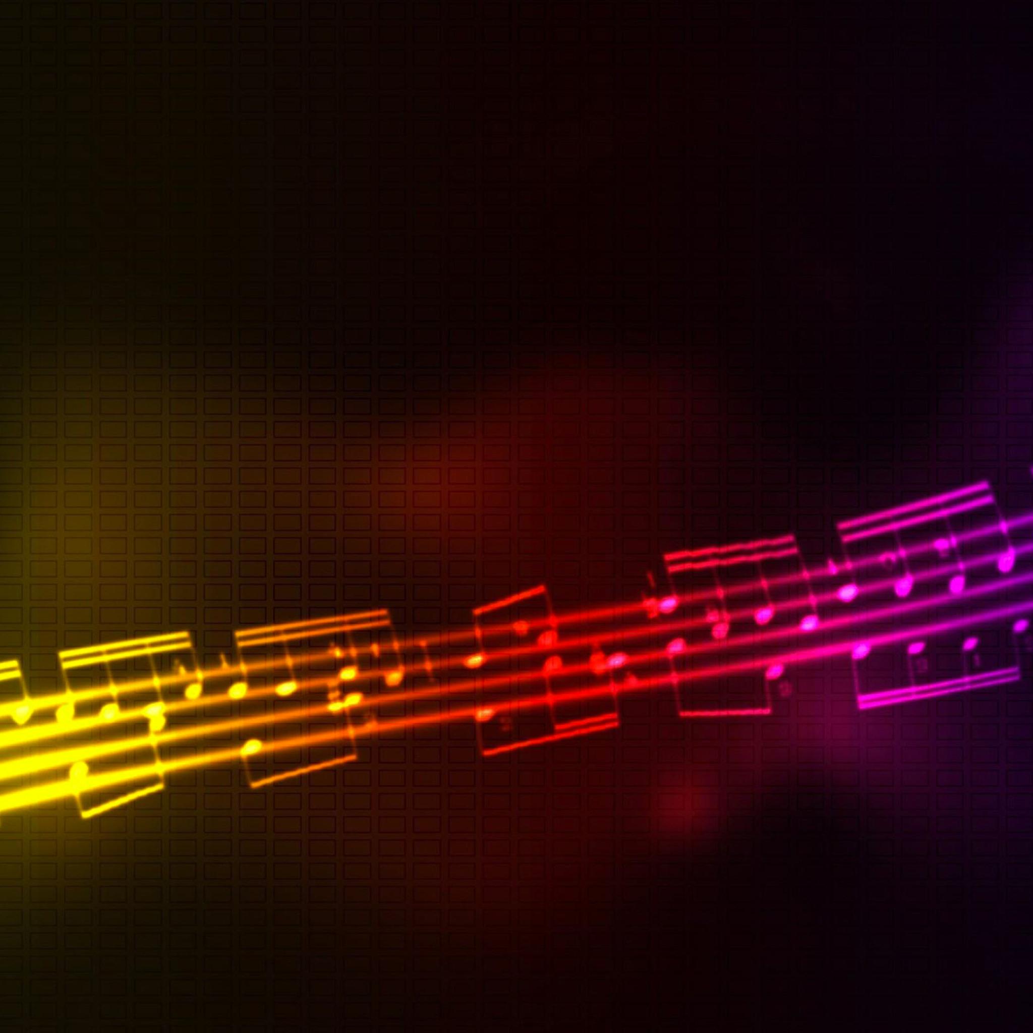 Music Multicolor 3Wallpapers iPad Music Multicolor   iPad