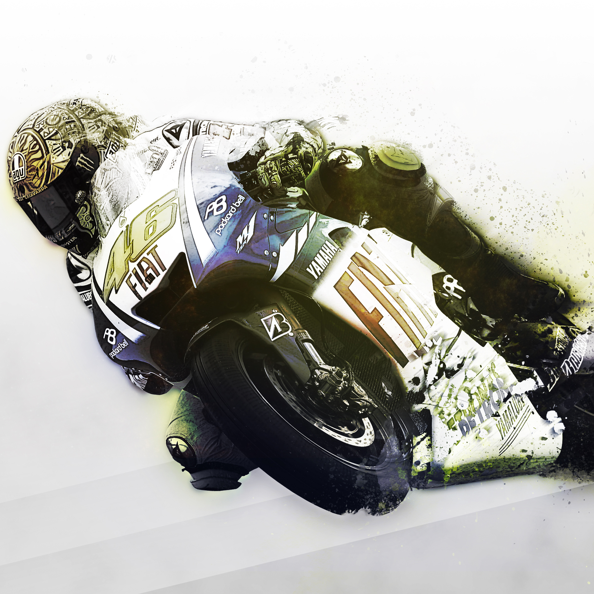 Rossi wallpaper by MateToth 3Wallpapers iPad Ross by MateToth   iPad