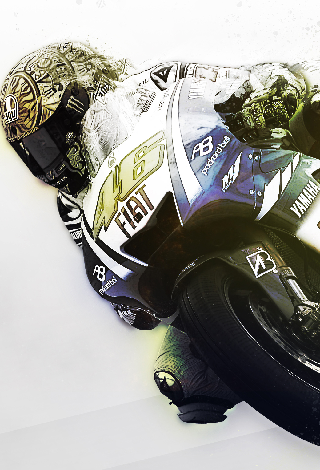 Rossi wallpaper by MateToth 3Wallpapers iPhone Les 3 Wallpapers iPhone du jour (24/09/13)