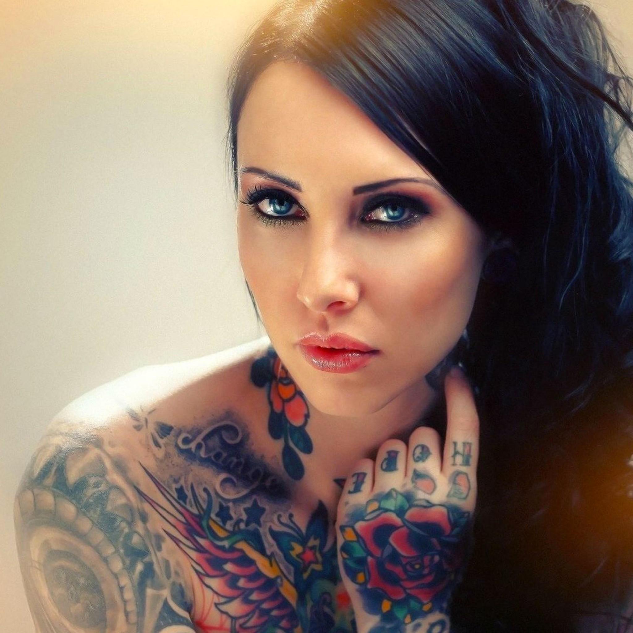 Tattoos Girl 3Wallpapers iPad Tattoos Girl   iPad