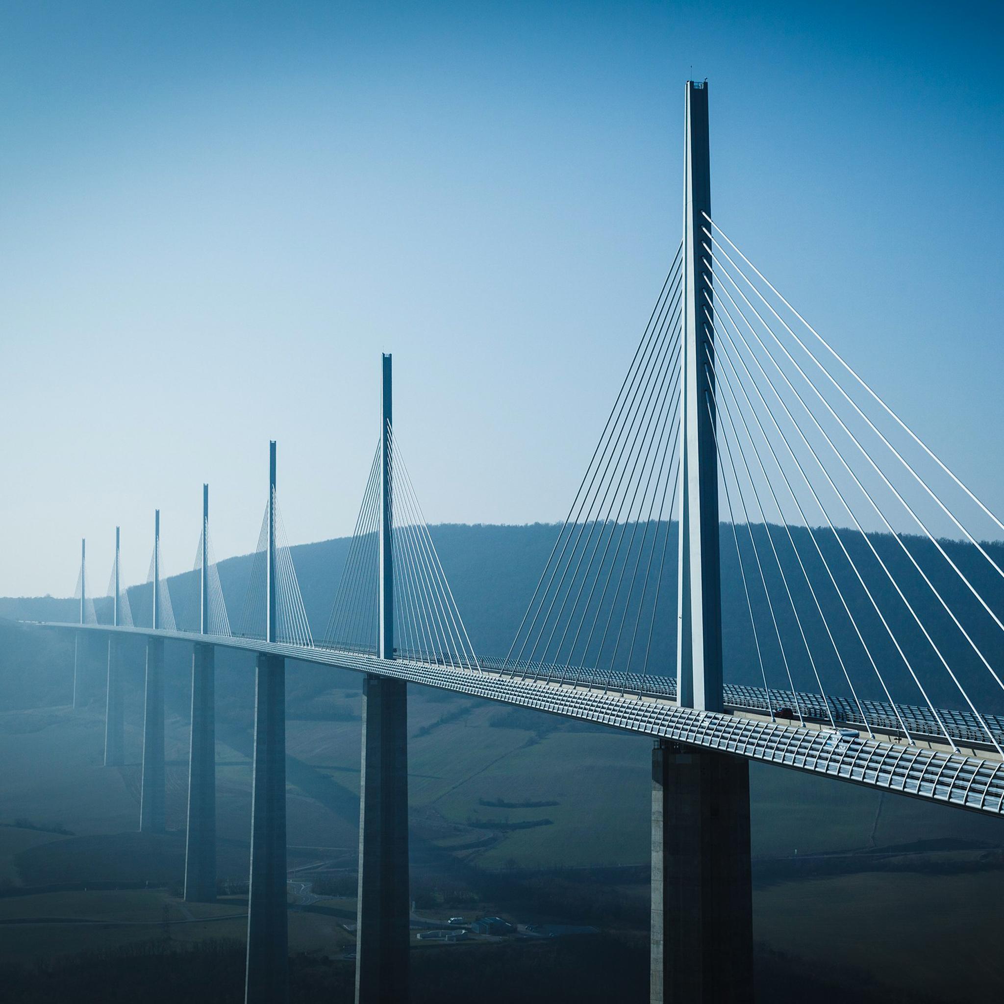 Viaduc de Millau 3Wallpapers iPad Viaduc de Millau   iPad