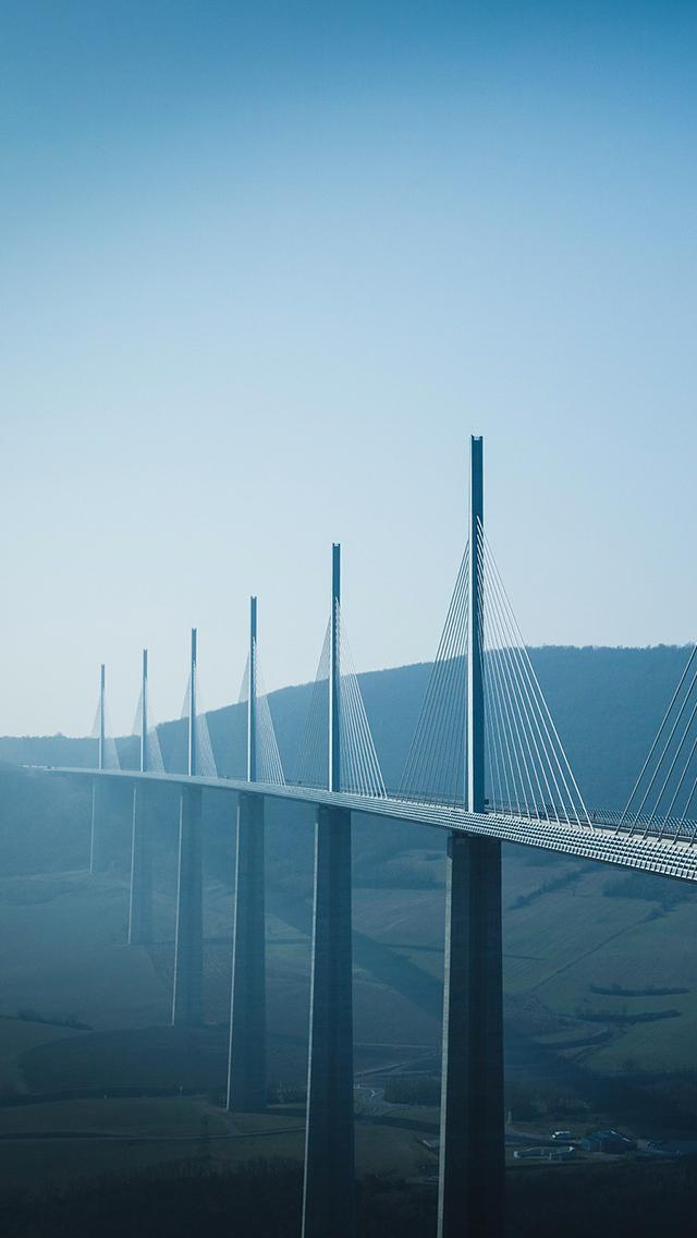 Viaduc de Millau 3Wallpapers iPhone Viaduc de Millau