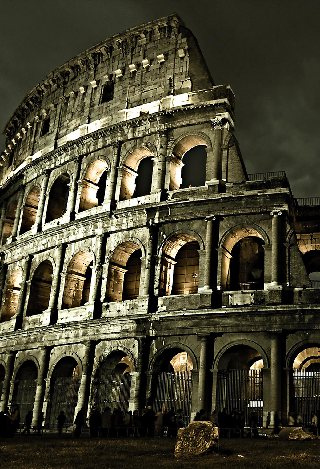 Colosseum Rome Wallpaper For Iphone X 8 7 6 Free