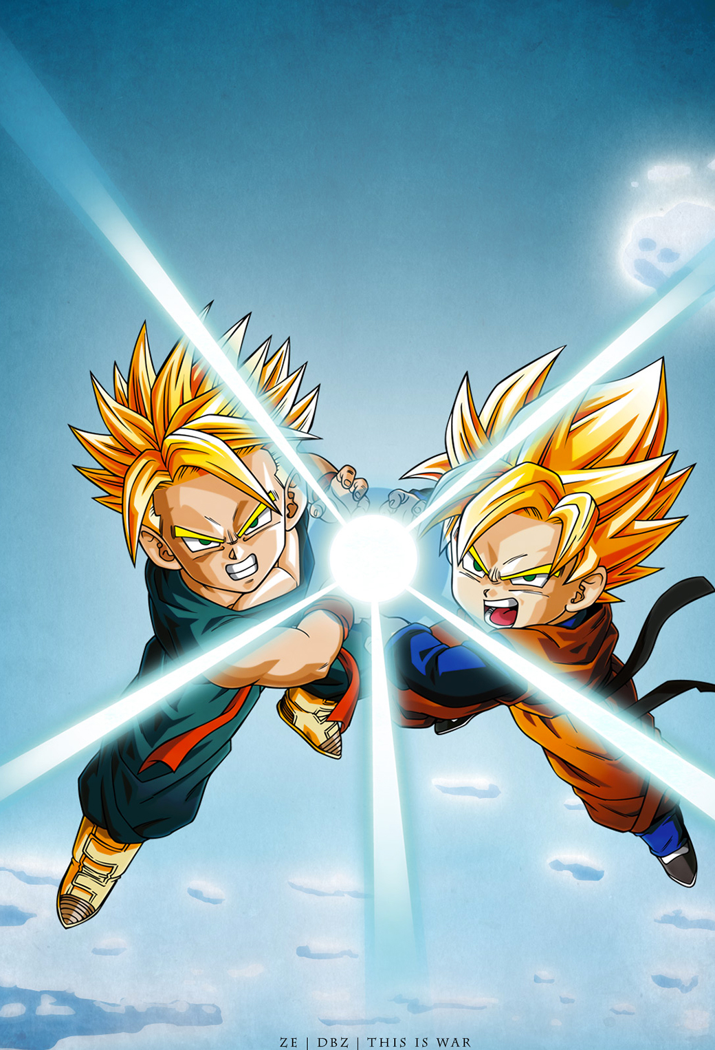 Dragon Ball Z Iphone Parallax Wallpaper For Iphone 11 Pro Max X 8 7 6 Free Download On 3wallpapers