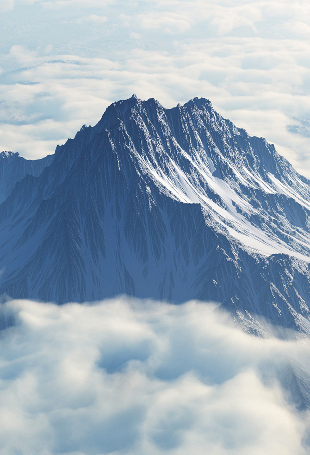 Mountain 3Wallpapers iPhone Parallax Mountain