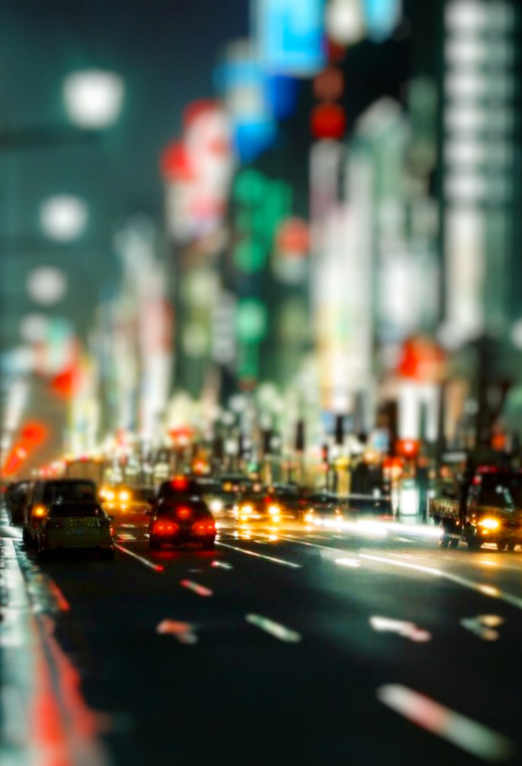 Street Lights 3Wallpapers IPhone Parallax