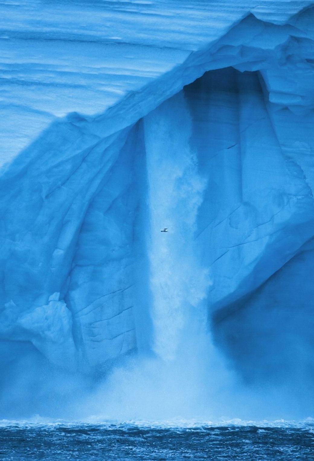Glacier 3Wallpapers iPhone Parallax Glacier