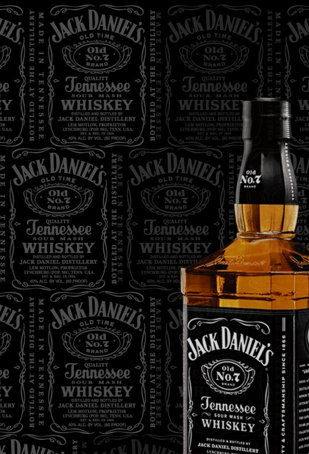 Jack Daniels 3Wallpapers iPhone Parallax Jack Daniels