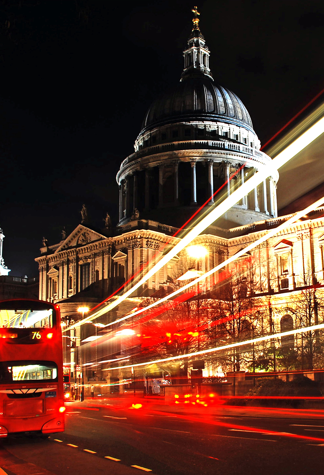 London At Night Wallpaper For Iphone X 8 7 6 Free