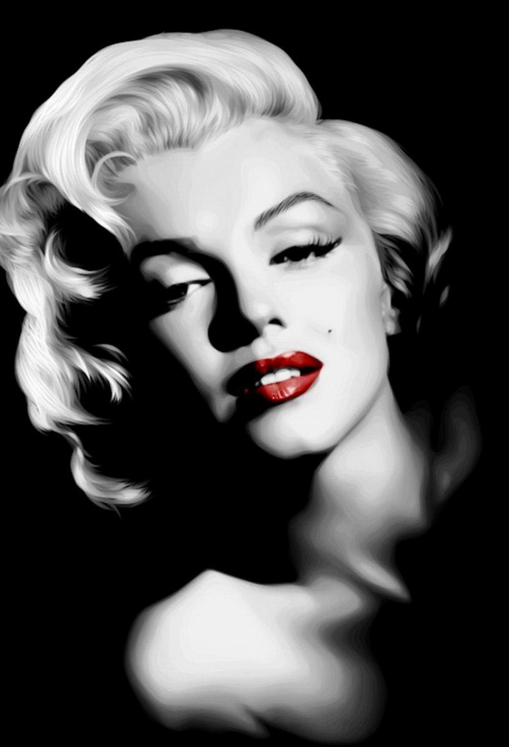 Marilyn Monroe in Dark 3Wallpapers iPhone Parallax Marilyn Monroe in Dark