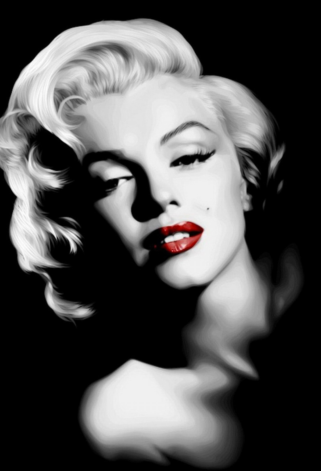 Marilyn Monroe in Dark Wallpaper for