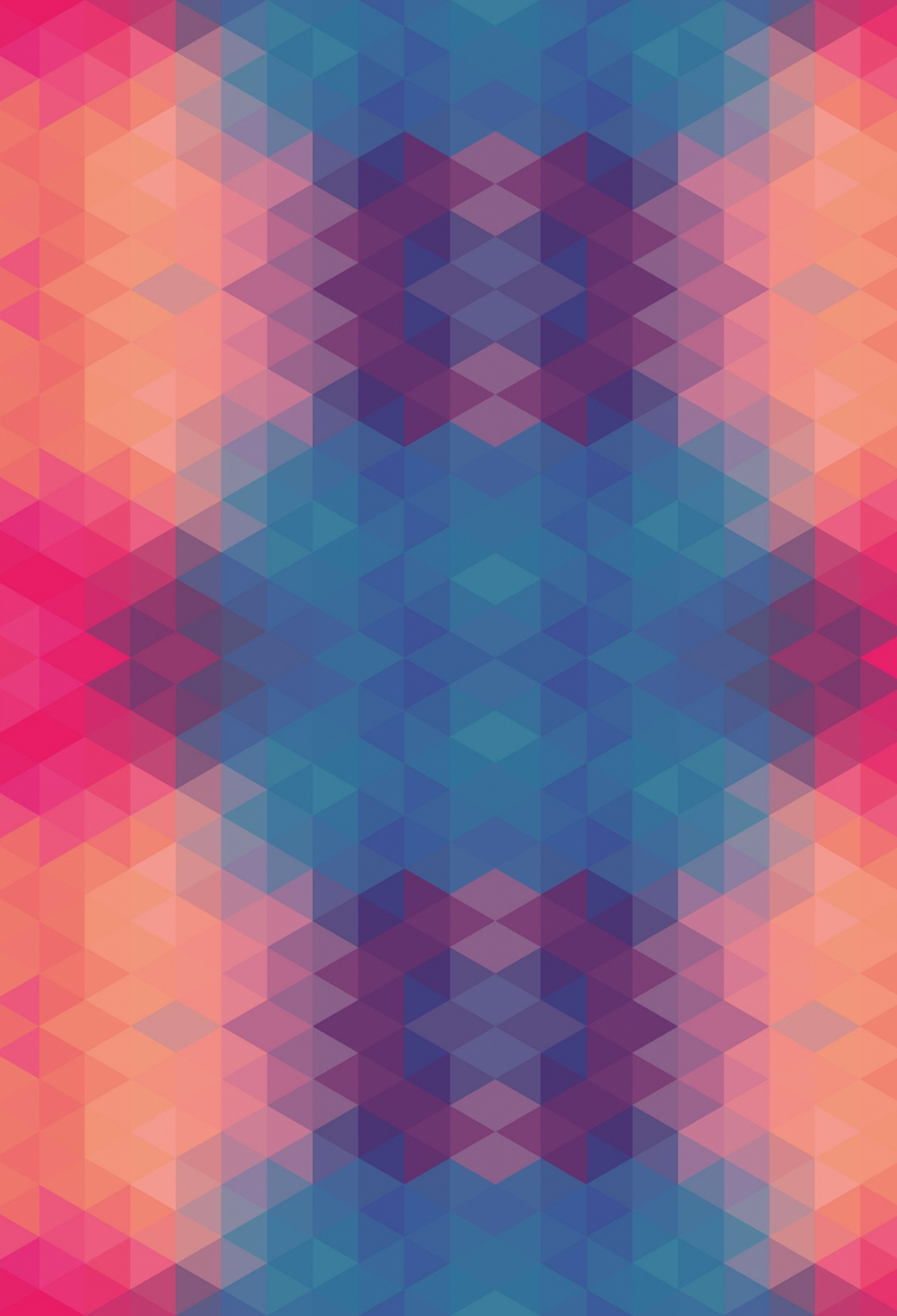 Triangle 3Wallpapers iPhone Parallax Triangle