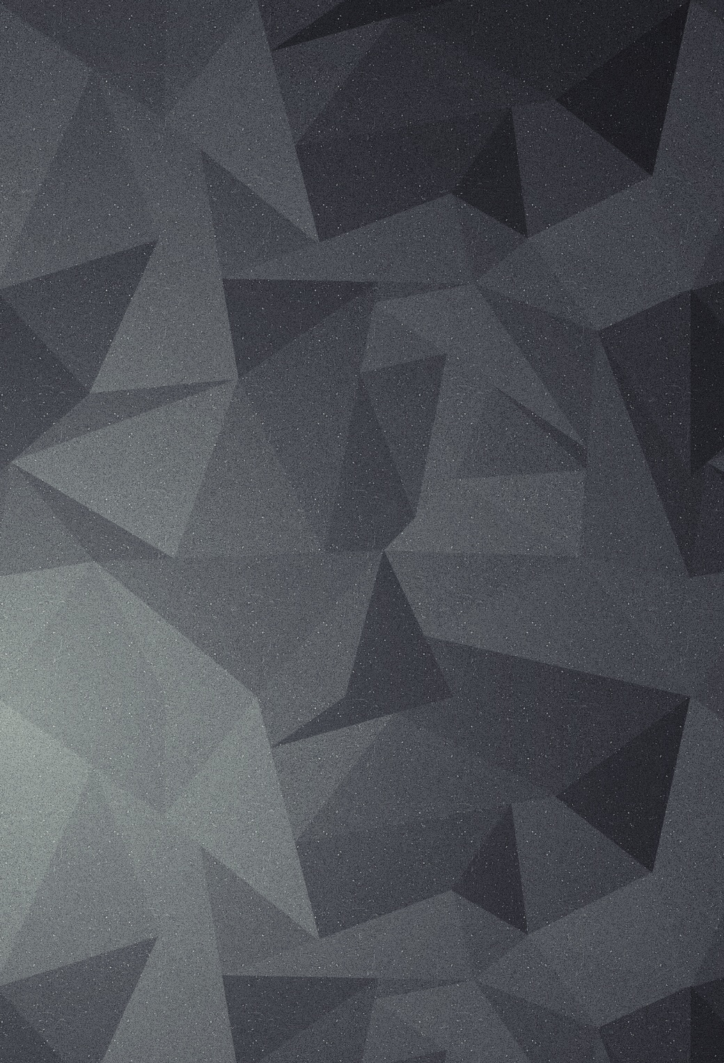 Grey Polygone Wallpaper for iPhone X, 8, 7, 6