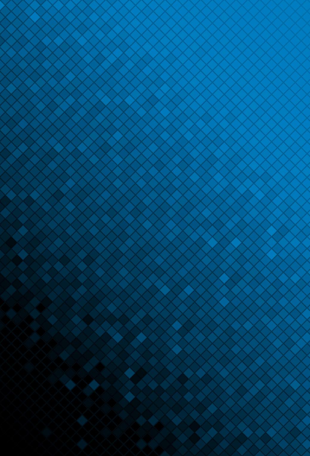 Blue Mosaic 3Wallpapers iphone Parallax Blue Mosaic