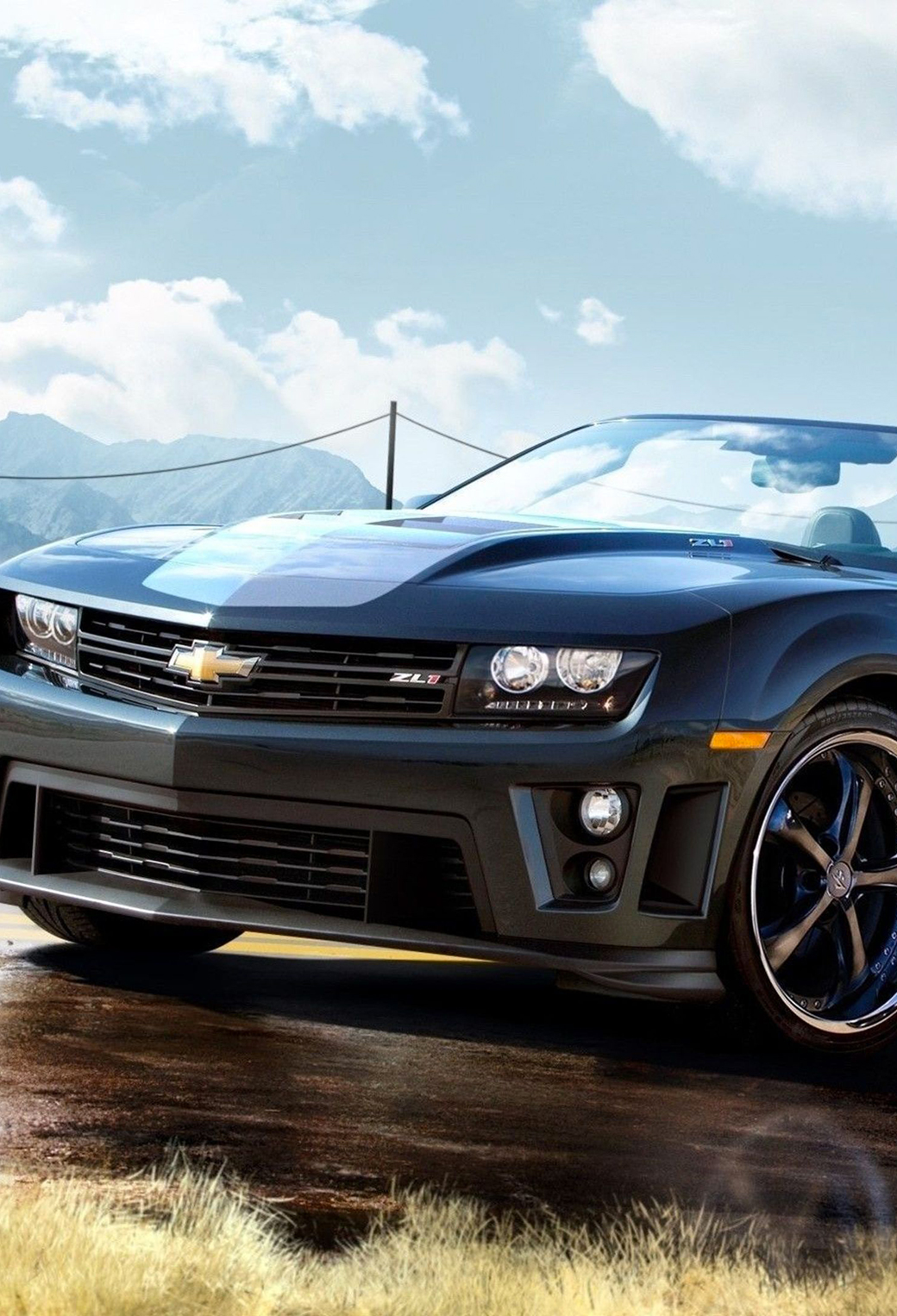 Chevrolet Camaro ZL1 Wallpaper for iPhone X, 8, 7, 6