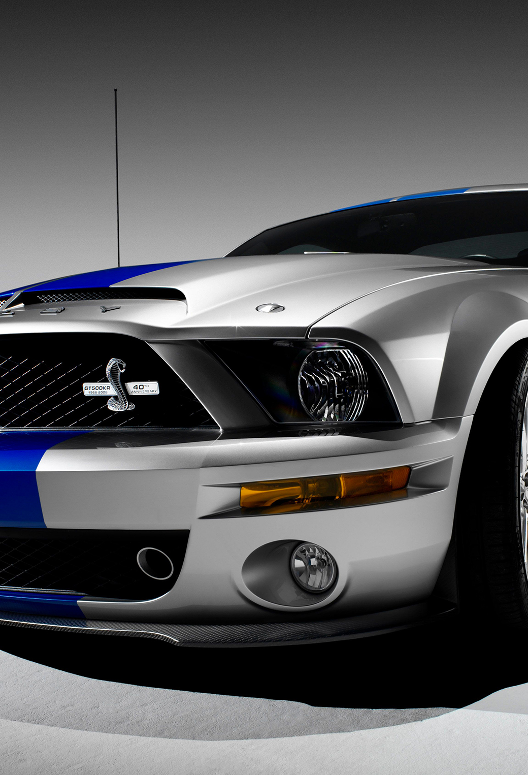 Ford Mustang GT500 3Wallpapers iPhone Parallax Ford Mustang GT500