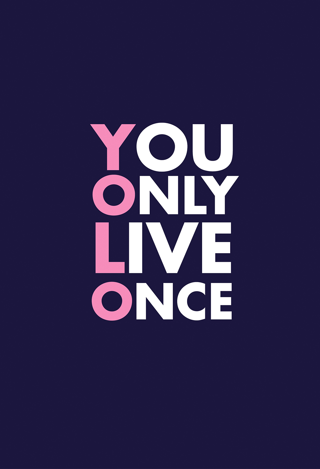 YOLO Wallpaper for iPhone X, 8, 7, 6 - Free Download on ... Yolo Logo Wallpaper