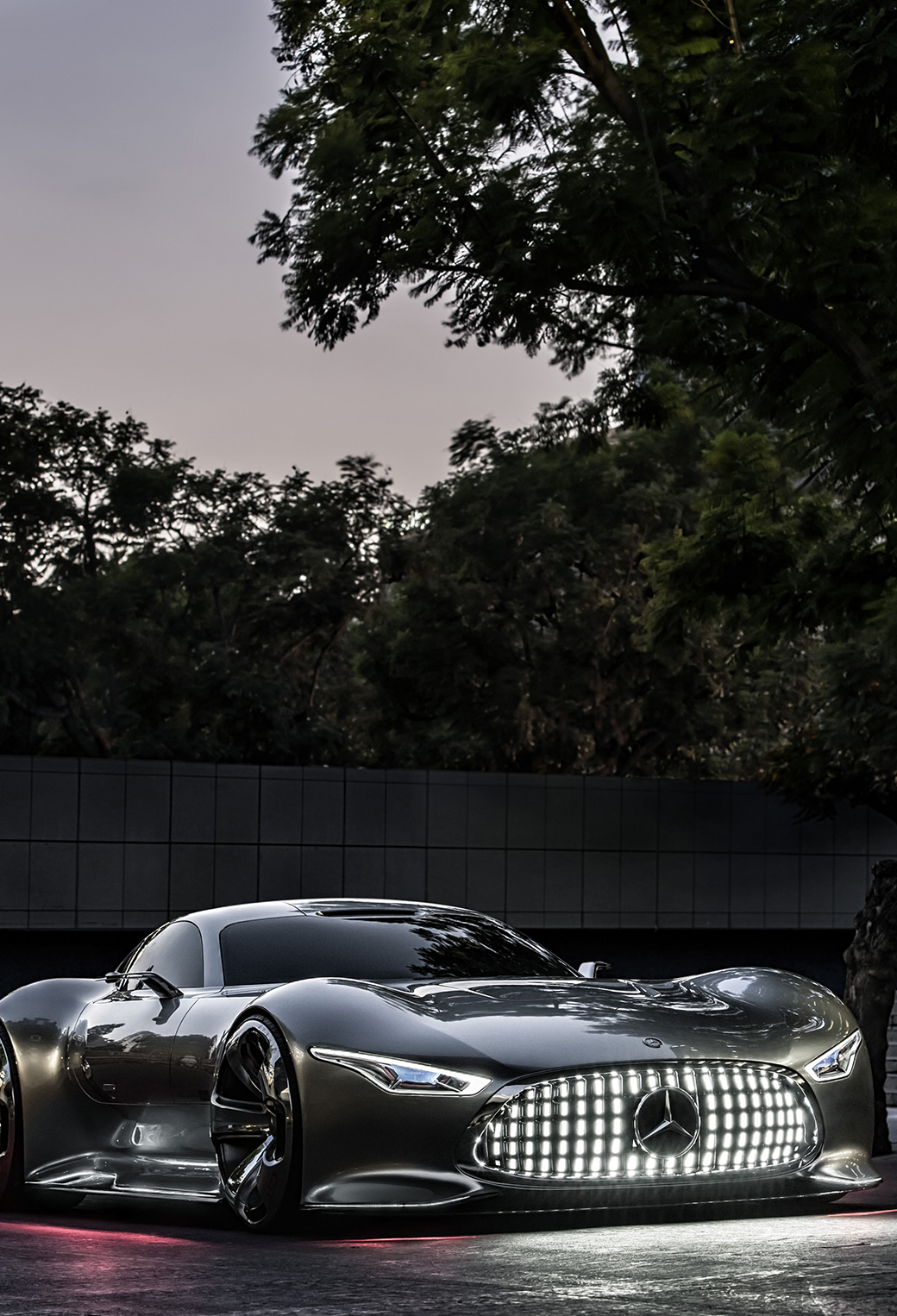 Mercedes benz amg vision wallpaper for iphone x 8 7 6 for Mercedes benz amg vision