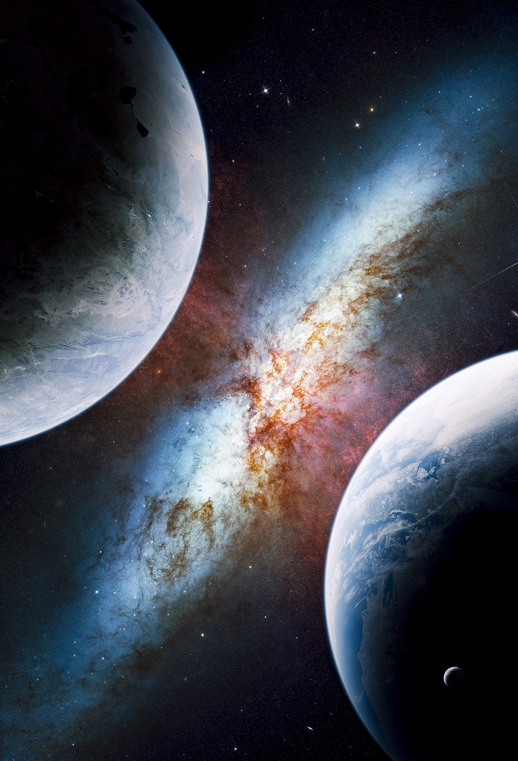 Planet Galaxy Wallpaper For Iphone X 8 7 6 Free Download On