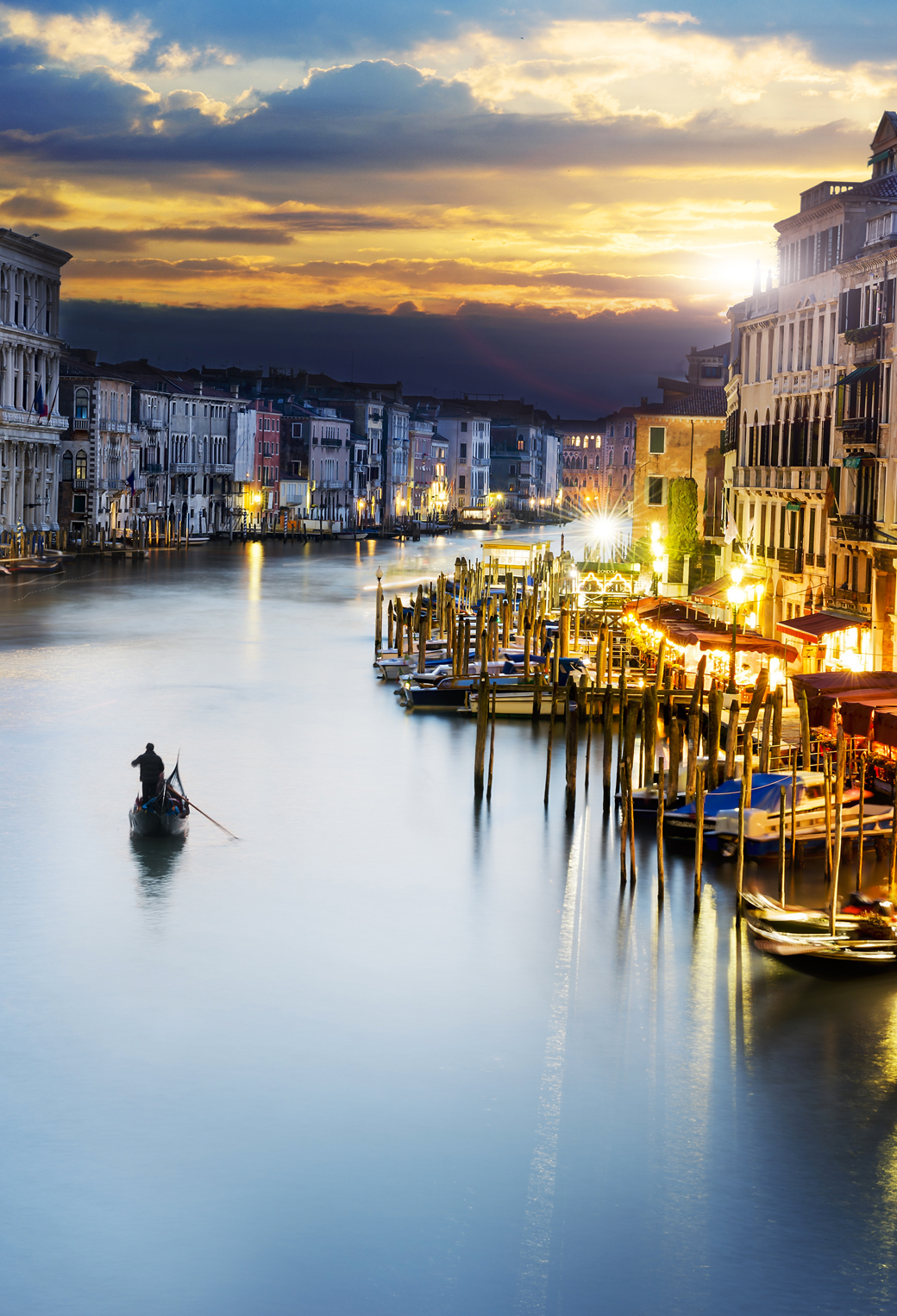 City Venice Italy Sunlight Wallpaper For Iphone X 8 7 6