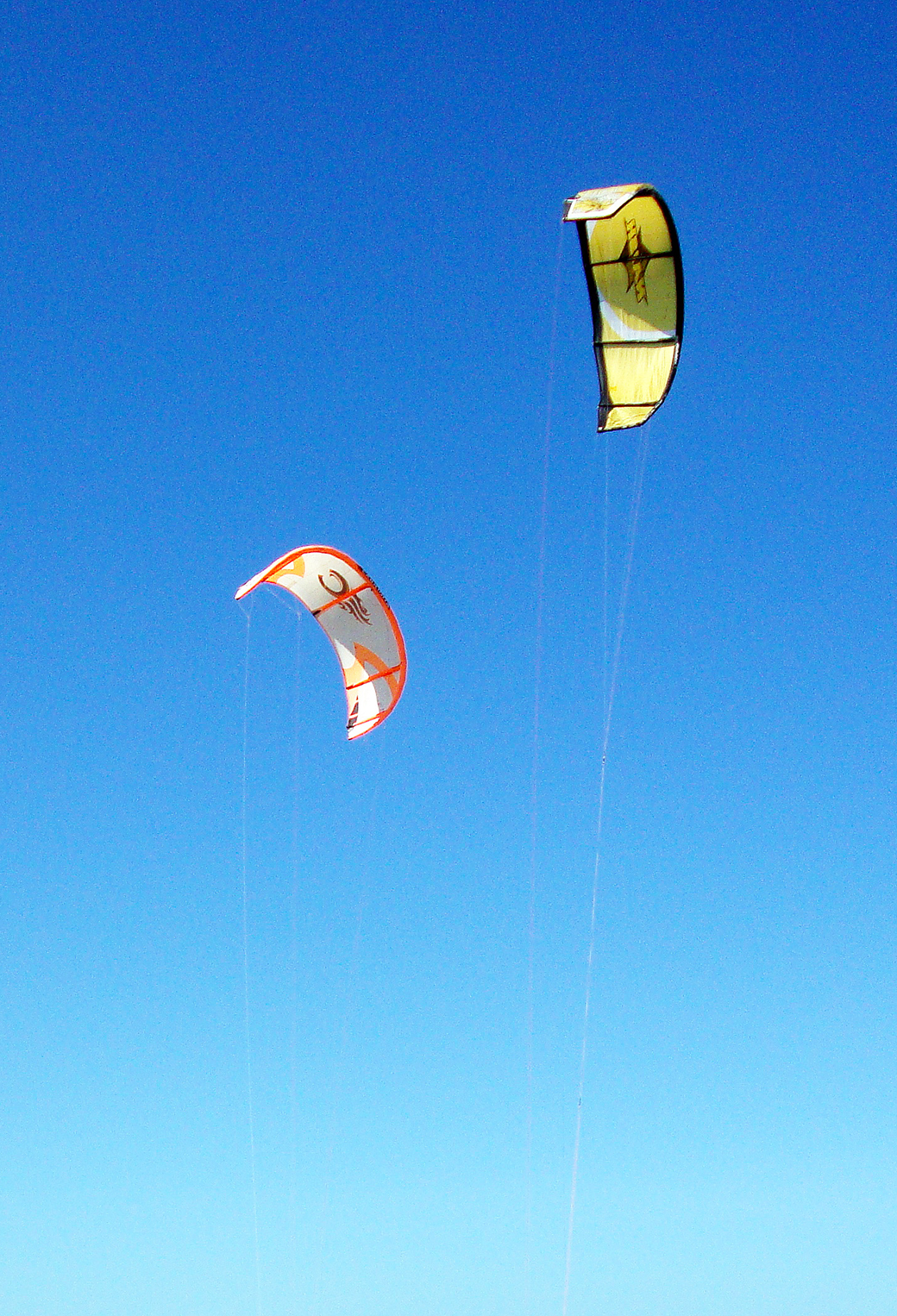 Kite Surf flying 3Wallpapers iPhone Parallax Kite Surf flying